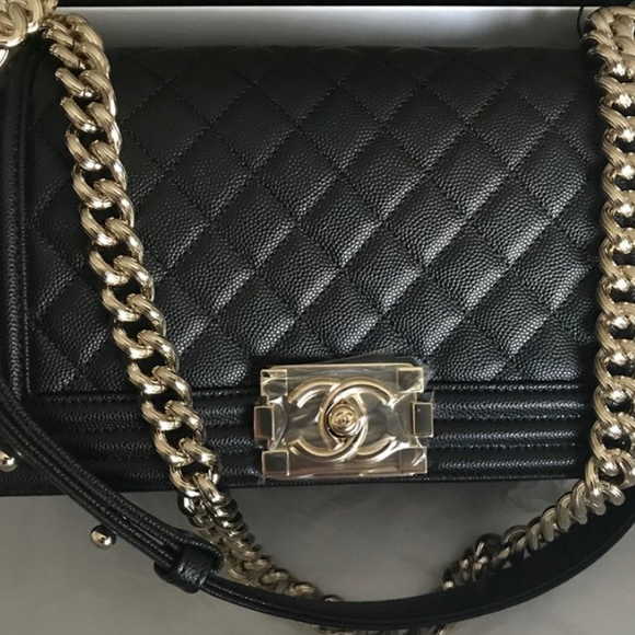 b9be0f4da302b3 Chanel Bags | Authentic Le Boy | Poshmark